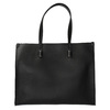 Borsetta quadrata in stile Shopper bata, nero, 961-6736 - 26