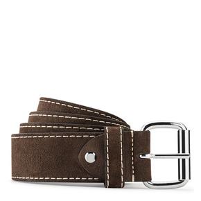Cintura di pelle da uomo bata, marrone, 953-4106 - 13