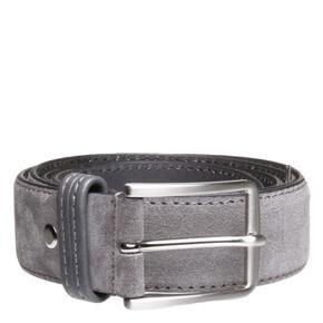 Cintura da uomo in pelle bata, grigio, 953-2807 - 13