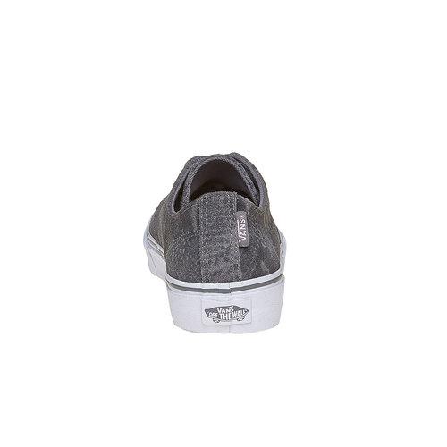 Sneakers in pelle da donna con motivo di serpente vans, grigio, 503-2311 - 17