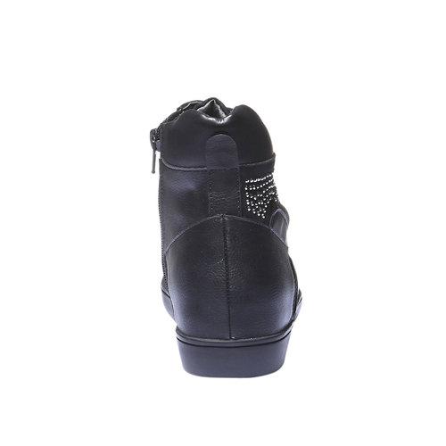 Sneakers alla caviglia north-star, nero, 541-6118 - 17
