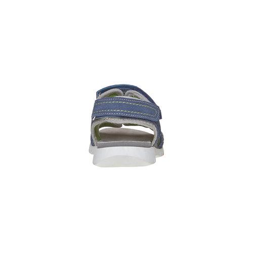 Sandali da bambino flexible, blu, 363-9188 - 17