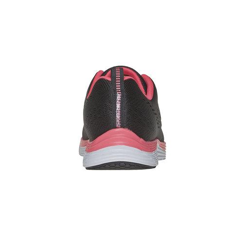 sneaker da donna skechers, nero, 509-6706 - 17