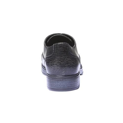 Sneakers informali con suola di contrasto bata, nero, 521-6364 - 17