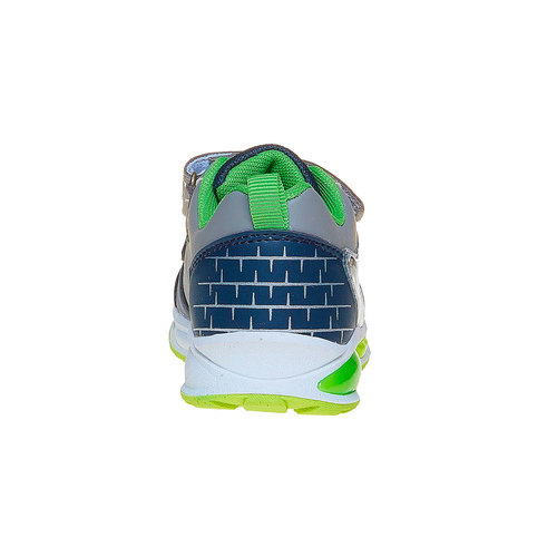 Sneakers da bambino con stampa mini-b, blu, 211-9170 - 17