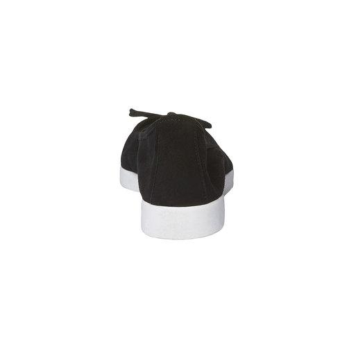 Ballerine a punta bata, nero, 529-6494 - 17