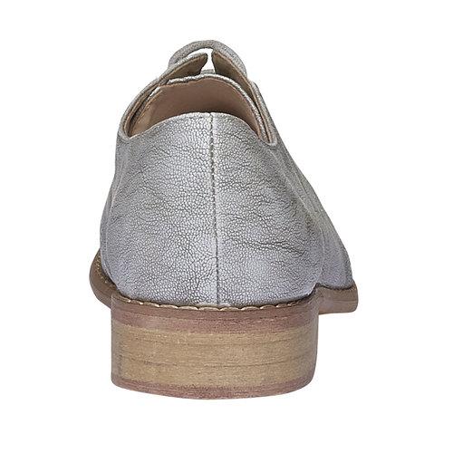 Scarpe basse da donna bata, grigio, 521-2477 - 17