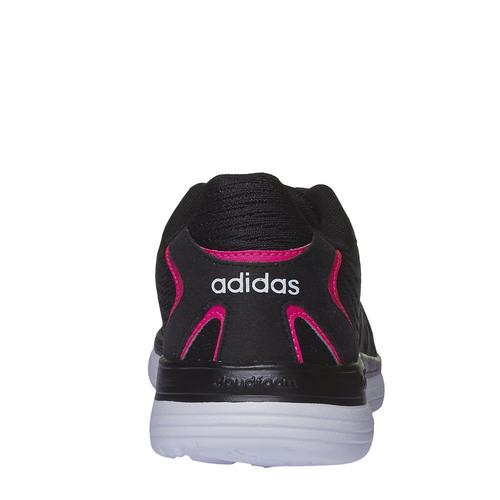Sneakers sportive da donna adidas, nero, 509-6679 - 17