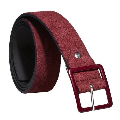 Cintura da donna in pelle bata, rosso, 953-5105 - 13