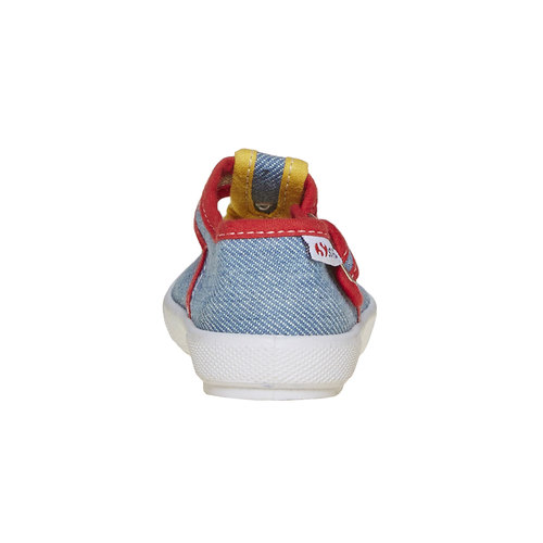Sandali colorati per i più piccoli superga, blu, 169-0314 - 17