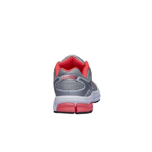 scarpa sportiva da donna lotto, grigio, 509-2696 - 17