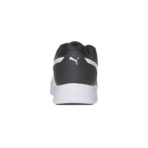 sneaker da donna puma, nero, 509-6695 - 17