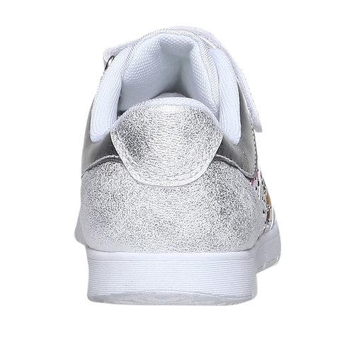 Sneakers da bambino con fiorellini mini-b, bianco, 329-1174 - 17