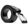 Cintura classica in pelle bata, nero, 954-6833 - 26
