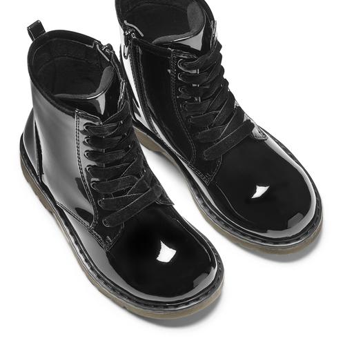 Scarpe alla caviglia con suola massiccia mini-b, nero, 391-6259 - 17