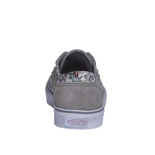 Sneakers da donna con stampa floreale vans, grigio, 503-2700 - 17