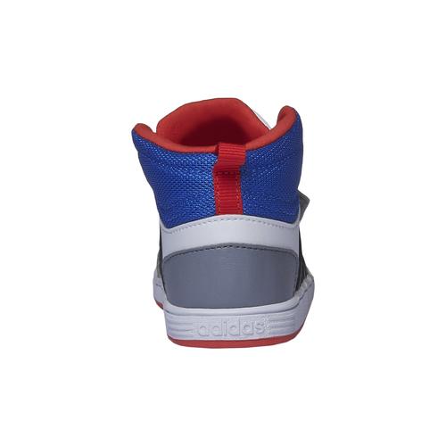 Sneakers da bambino alla caviglia adidas, bianco, 101-1167 - 17