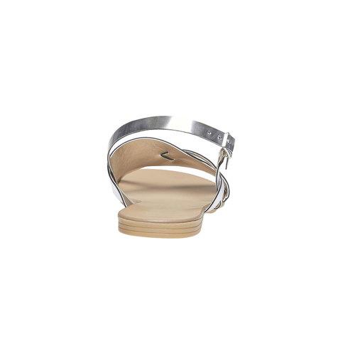 Sandali argentati bata, argento, 561-1131 - 17