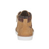 Sneakers da bambino alla caviglia mini-b, giallo, 211-8169 - 17