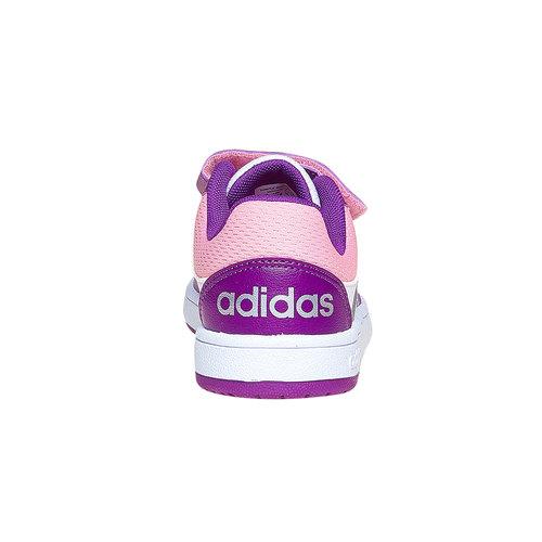 Sneakers da bambina con chiusure a velcro adidas, viola, bianco, 301-1167 - 17