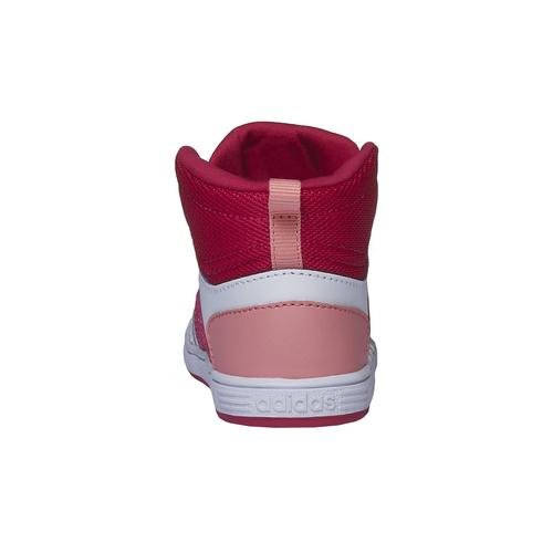 Sneakers da bambino alla caviglia adidas, rosso, 101-5167 - 17