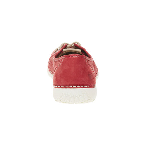 Sneakers di pelle weinbrenner, rosso, 546-5238 - 17