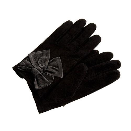 Guanti da donna in pelle in una confezione regalo bata, nero, 903-6104 - 13