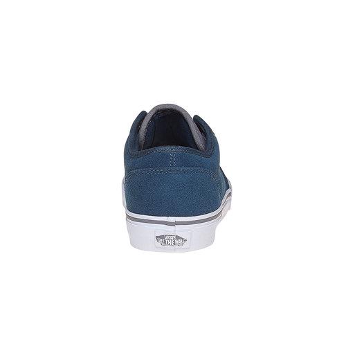 Sneakers da bambino di pelle vans, blu, 403-9234 - 17