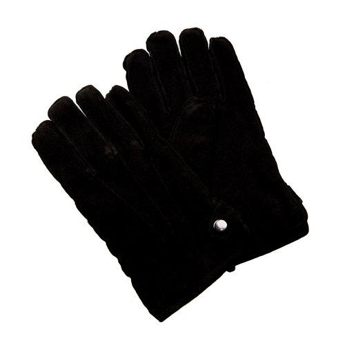 Guanti da uomo in pelle in una confezione regalo bata, nero, 903-6103 - 13