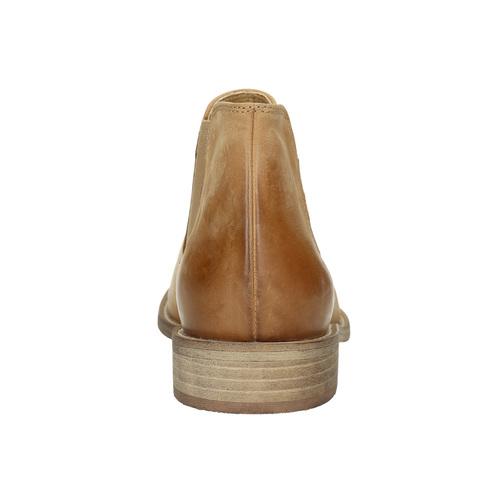 Chelsea Boots di pelle bata, marrone, 594-3432 - 17