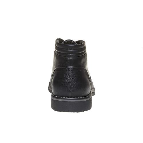 Scarpe da uomo alla caviglia, nero, 841-6699 - 17