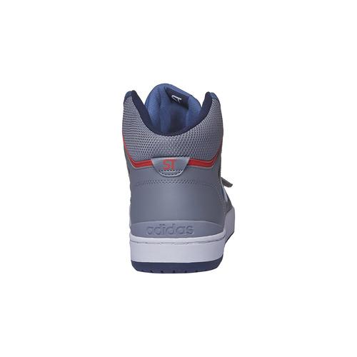 Sneakers da uomo alla caviglia adidas, viola, 803-9151 - 17