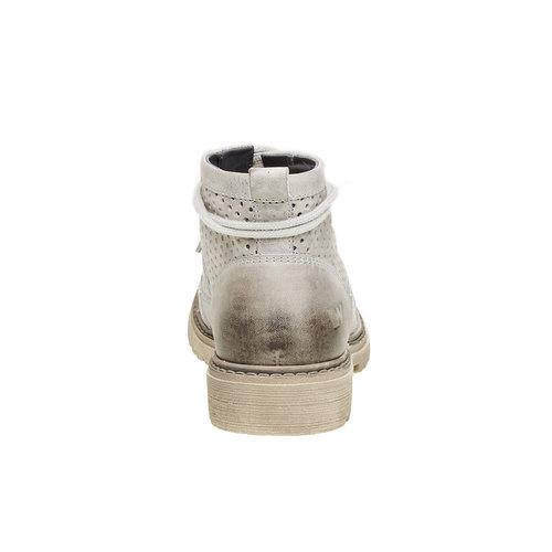scarponcino di pelle alla caviglia weinbrenner, grigio, 594-2138 - 17