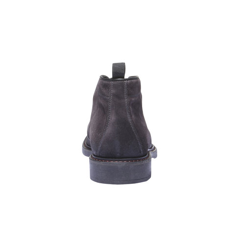 Scarpe Chukka in pelle bata, grigio, 893-2520 - 17
