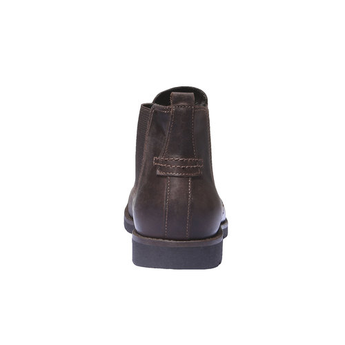 Scarpe in pelle in stile Chelsea bata, marrone, 894-4197 - 17