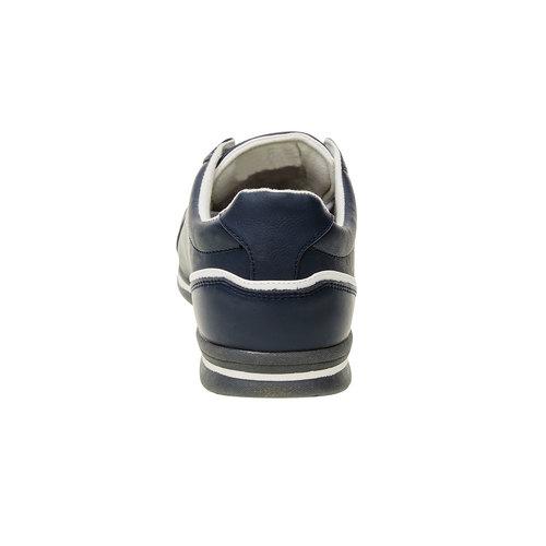 Sneakers da uomo in pelle levis, viola, 844-9509 - 17