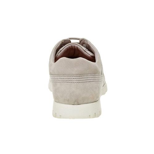 Sneakers informali di pelle flexible, beige, 846-2650 - 17