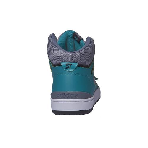 Sneakers da uomo alla caviglia adidas, grigio, 803-2151 - 17