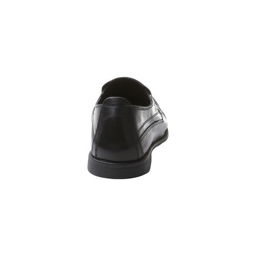 Scarpa casual stile Loafer bata-comfit, nero, 854-6833 - 17