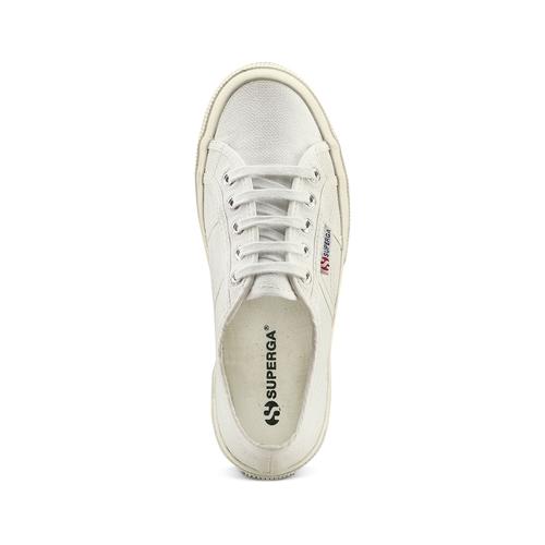 Sneakers di tela informali superga, bianco, 589-1187 - 17