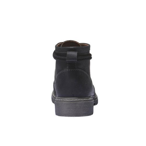 Scarpe in pelle con lacci originali weinbrenner, nero, 594-6409 - 17
