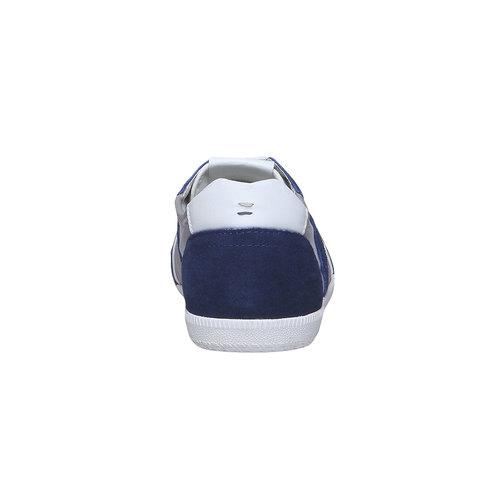 Sneakers informali da uomo bata, blu, 849-9653 - 17