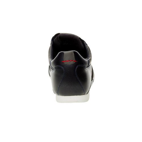 Sneakers informali di pelle levis, nero, blu, 844-9260 - 17