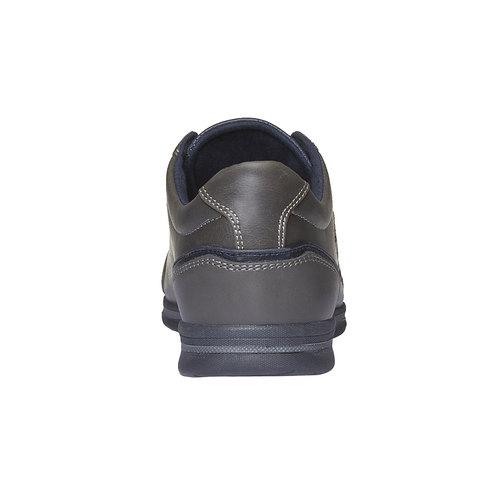 Sneakers di pelle levis, grigio, 841-2263 - 17