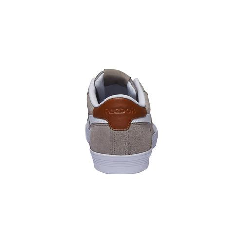 Sneakers da uomo in pelle reebok, grigio, 803-2130 - 17