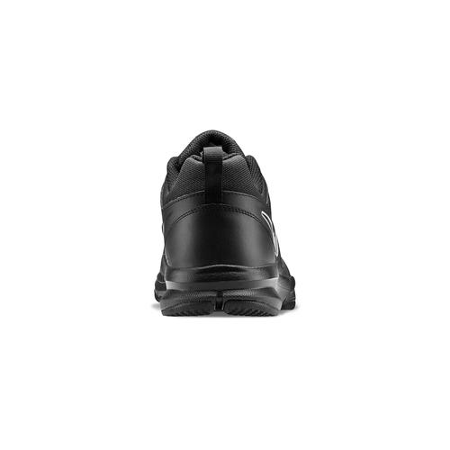 Sneakers sportive in pelle nike, nero, 804-6572 - 16