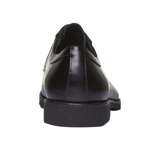Scarpe stringate di pelle in stile Derby bata, nero, 824-6398 - 17