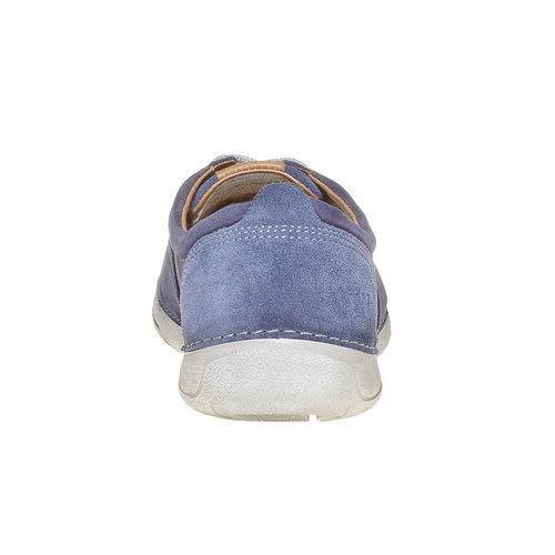 Scarpe da uomo in pelle weinbrenner, viola, 846-9657 - 17