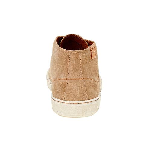 Scarpe da uomo in pelle weinbrenner, marrone, 843-8661 - 17