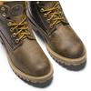Scarpe in pelle con suola a carro armato weinbrenner, marrone, 894-4820 - 15